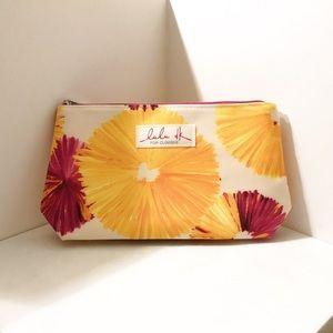 Lulu DK for Clinique Floral Print Makeup Bag